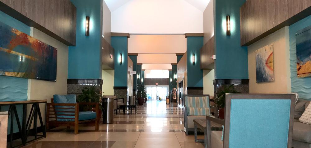 HI Lake Buena Vista lobby