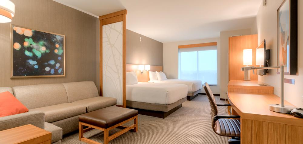 Hyatt Place Blacksburg guestroom