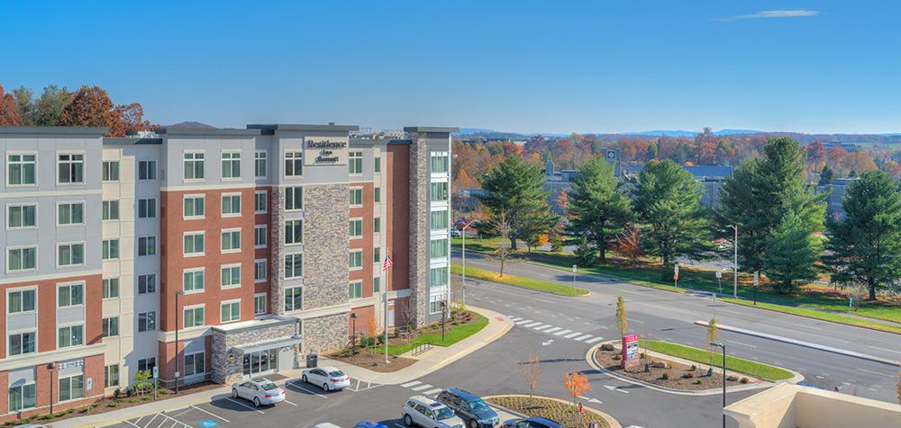 Residence Inn Blacksburg exterior web 1