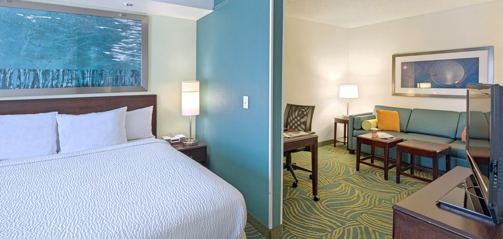 SHS Greensboro guestroom