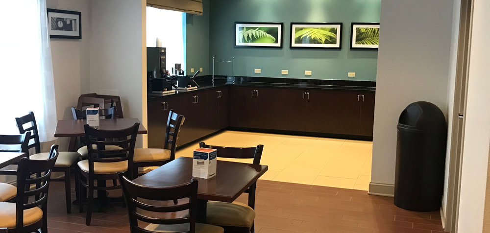 Sleep Inn Clintwood breakfast area