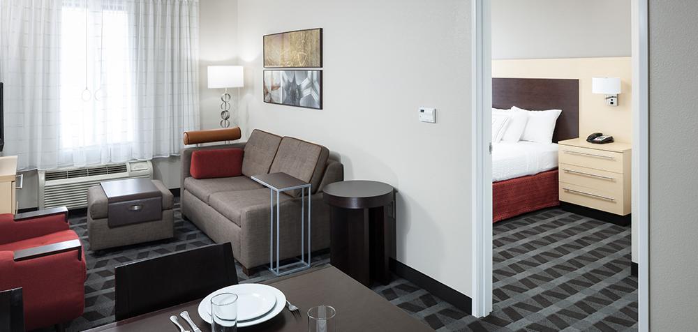 TPS Columbia guestroom